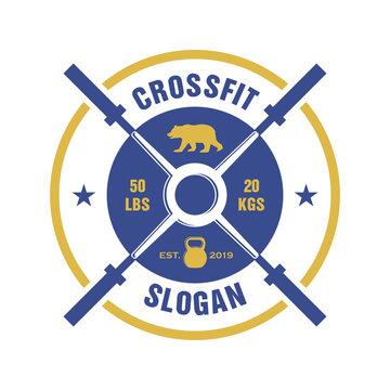 Cross Fit Logo, Fitness Logo, Body Building Logo