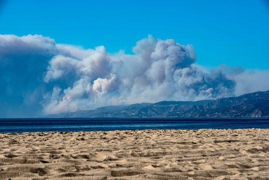 Woolsey Fire - Malibu California