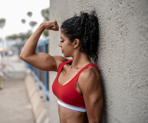 Female Arm Flex