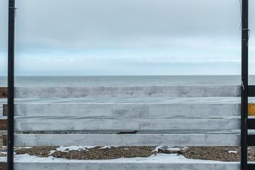 Azov sea coast.