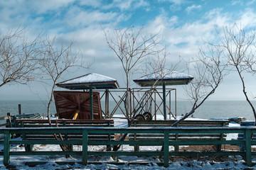 Azov sea coast