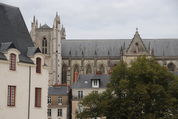 Kathedrale von Nantes, Bretagne