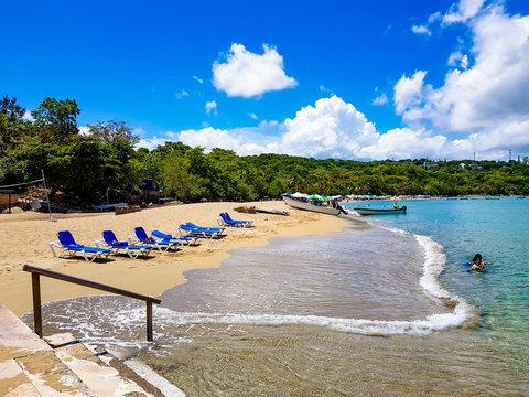 The beach of Sosua