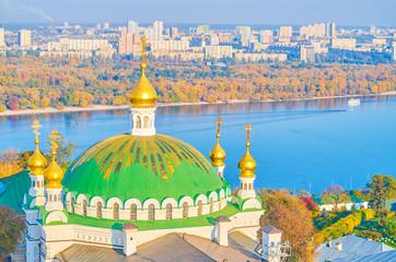 Wall Murals Kiev The beautiful Dome of the Refectory Church, Kiev, Ukraine