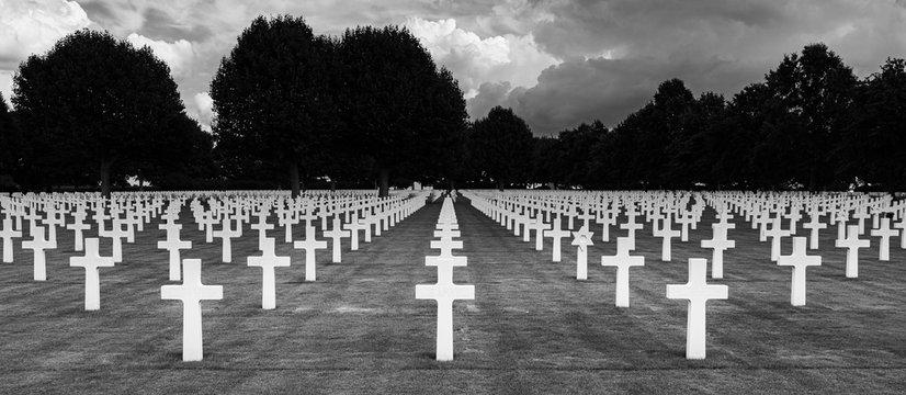 American War Cemetery, Margraten Limburg The Netherlands. Sep 7 , 2019