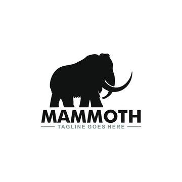 template mammoth logo