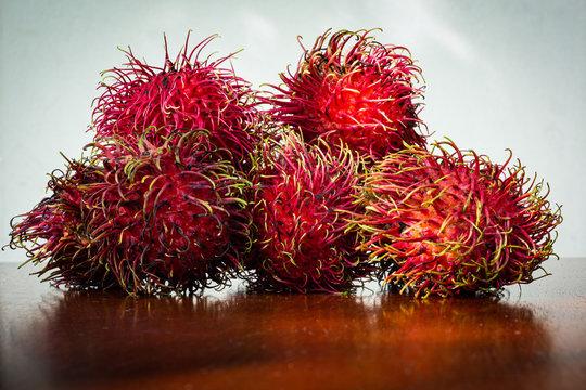 Frutos de mamón chino