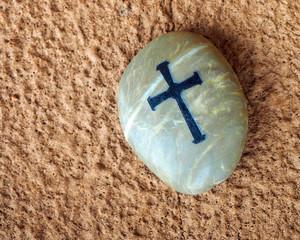 Cross on Rock - 58