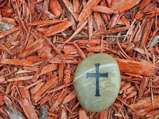 Cross on Rock - 98