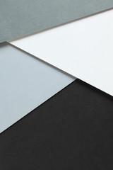 幾何学模様のカラーペーパーの背景