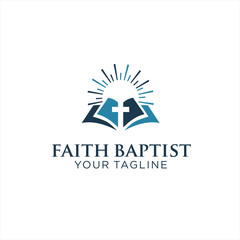 Faith Baptist Logo inpiration Design