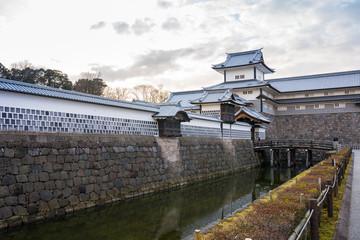 Wall Mural - Kanazawa, Japan - February 14, 2019: