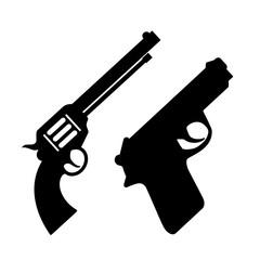 Weapon gun vector icon