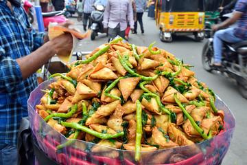 Street food in India, Samosa
