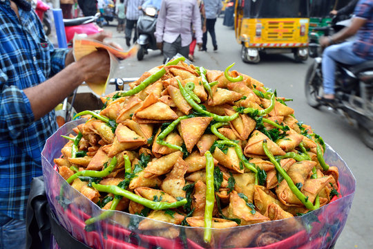 Street food in India, Samosa