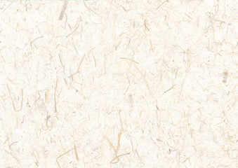 Korean traditional paper with straw