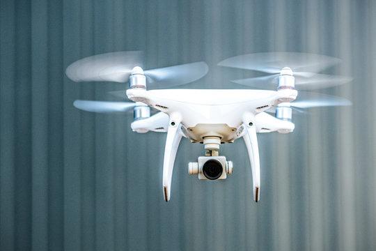Überwachung mit einer Drohne