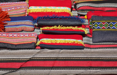 Indigenous Textiles at a Local Market