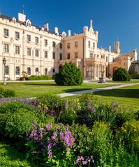 Fotomurales - Lednice Palace with garden, Czech Republic