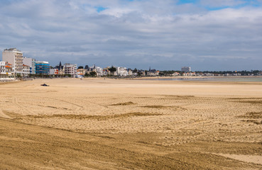 Plage de la Grande Conche of Royan. Royan is one of the main French Atlantic coastal resort towns