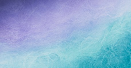 Abstract colorful watercolor paint pastel tone blue green violet purple background with liquid fluid texture for background, banner