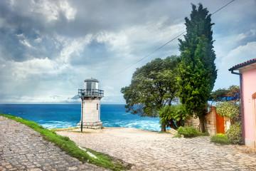 Wall Mural - Old lighthouse in Rovinj. Istria, Croatia