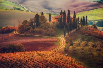 Obraz Sunrise in Italy - fototapety do salonu