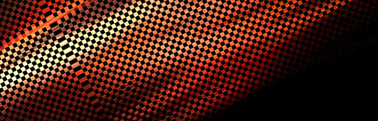 Fantastic unusual abstract background with complex geometric pattern. shiny rally texture