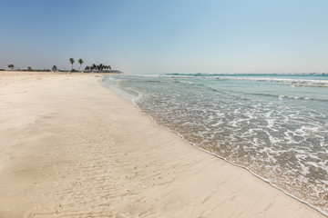 Al Haffa beach in Salalah, Oman, Indian Ocean