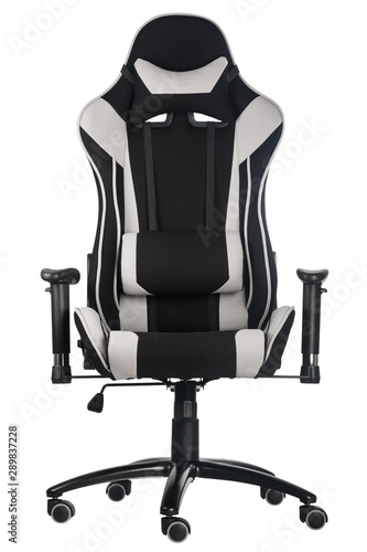 Astounding Modern Comfortable Gaming Chair Isolated On White Background Forskolin Free Trial Chair Design Images Forskolin Free Trialorg