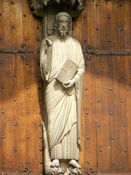 sculptures religieuses des Saints, France