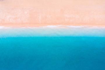 Fototapete - Sea background. Clean beach and sea