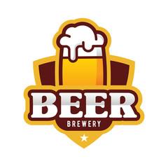 Beer Logo, Emblem Vector