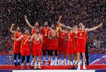 Basketball - FIBA World Cup - Final - Argentina v Spain