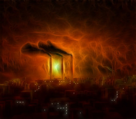 Toxic sky