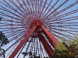 Riesenrad im Spreewaldpark