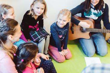 Music and singing in preschool or kindergarten