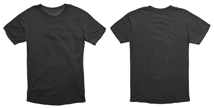 Black Shirt Design Template
