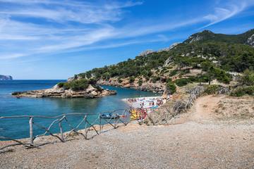 Playa de Olia public beach, Mallorca