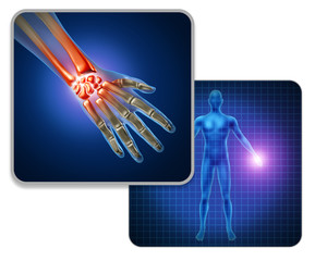 Human Hand Joint Pain