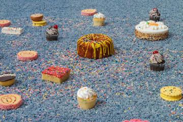 Cake Carpet