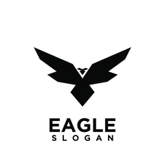 eagle logo icon designs vector. for signs, icons, logos abstract and shield