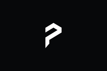 Initial P Letter Logo Design Vector Template. Monogram and Creative Alphabet PP Letters icon Illustration.