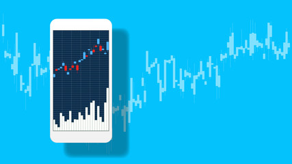 Mobile trading and Chart