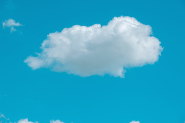 sky clouds, blue fluffy clean, clear Cloudscape beautiful white, bright weather light summer