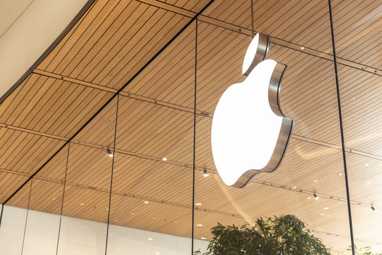 First Apple store in Thailand at Icon siam new modern luxury shopping mall in Bangkok, Thailand, 11 January 2019.