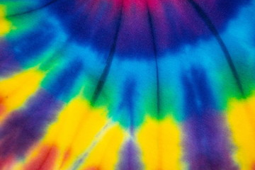 tie-dye art textured , beautiful color creative graphic , hippie and reggae style .