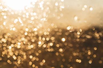 Christmas abstract bokeh