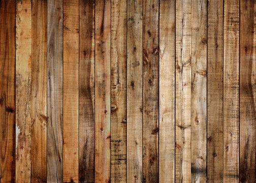 Vintage wooden palette boards of plank background.
