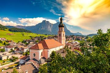 Kastelruth Panorama - Seiser Alm, Dolomiten